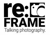 re:FRAME Talking Photography Logo